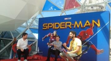 Spider-Man Homecoming: la conferenza stampa con Tom Holland e Jon Watts
