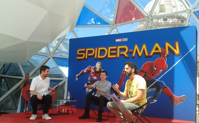 Spider-Man Homecoming: la conferenza stampa con Tom Holland e Jon Watts