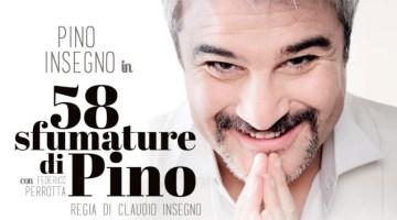 """58 Sfumature di Pino: un """"ottovolante"""" di risate con Pino Insegno"""