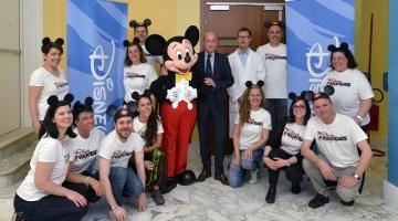 The Walt Disney Company Italia festeggia gli 80 anni all'Ospedale Giannina Gaslini