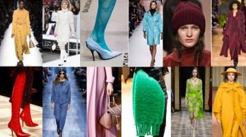 Tendenze moda Autunno-Inverno 2017/2018 secondo Pantone
