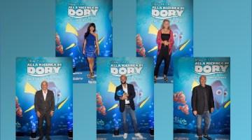 Alla ricerca di Dory: blue carpet per l'anteprima italiana (backstage)
