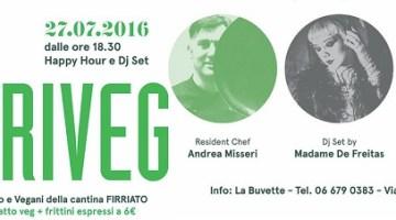 AperiVeg a La Buvette: prelibatezze green e Dj-Set nel cuore di Roma