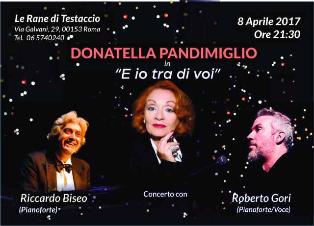 CARTOLINA Donatella Pandimiglio