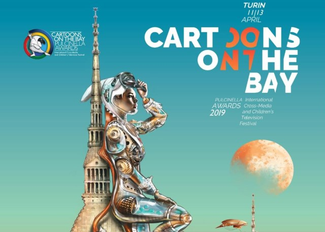 Cartoons on the bay 2019 Torino