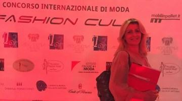 Francesca Mura alla serata conclusiva del Fashion Cult 2016