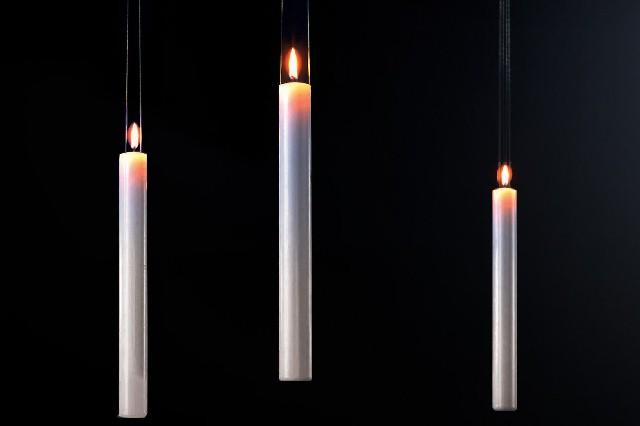 Illuminare con insolite candele lifestyle made in italy