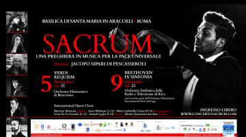Sacrum: una preghiera in musica per la pace