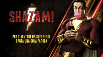 Shazam!: arriva il 3 aprile il film del supereroe DC con Zachary Levi