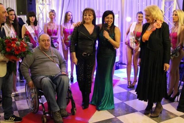 Una Ragazza per il Cinema: Massimo Meschini, Adriana Russo, Lisa Bernardini e Sandra Milo
