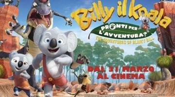 Billy il Koala: il nuovo film animato nei cinema dal 31 Marzo (trailer e recensione)