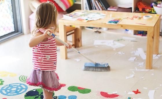 Faccende domestiche e bambini