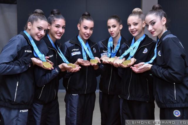 Mondiali di Sofia 2018: le Farfalle azzurre portano l'Italia della ritmica in cima al Mondo