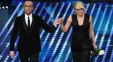 Sanremo 2017: la prima volta della coppia Conti-De Filippi