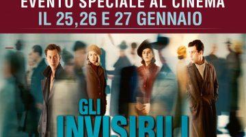 Gli invisibili: film evento per la Giornata della Memoria 2018