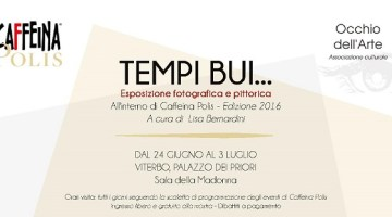 Caffeina Festival: dal 24 giugno al 3 luglio a Viterbo