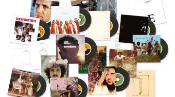 Lucio Battisti: come non l'hai mai visto, Sony Music rilascia tutti gli album in Vinyl Replica