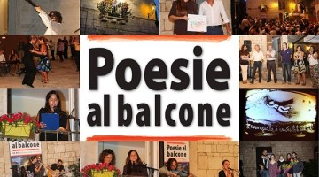 Poesie al Balcone: la XIV edizione stasera all'interno dell'Ogni Senso Festival di Giovinazzo
