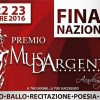 Musa d'Argento 2016: tutti i protagonisti delle finali nazionali