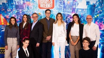 Ralph Spacca Internet: conferenza stampa con i registi e le voci italiane del film