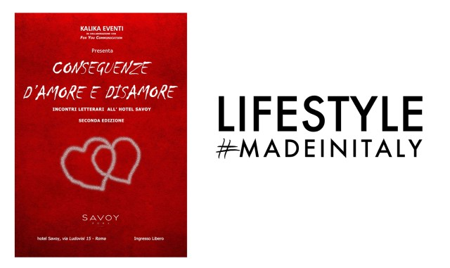Conseguenze D'Amore e Disamore: Lifestylemadeinitaly.it Media Partner