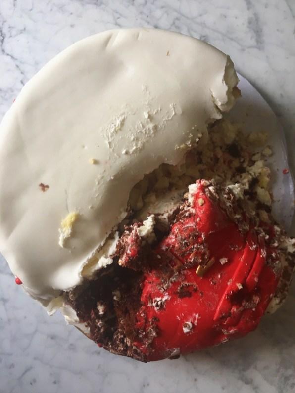 LEftover cake no waste