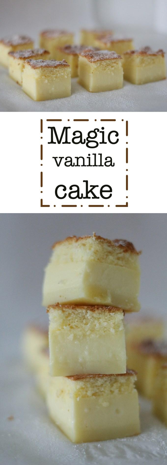 magic vanilla cake pinterest pin