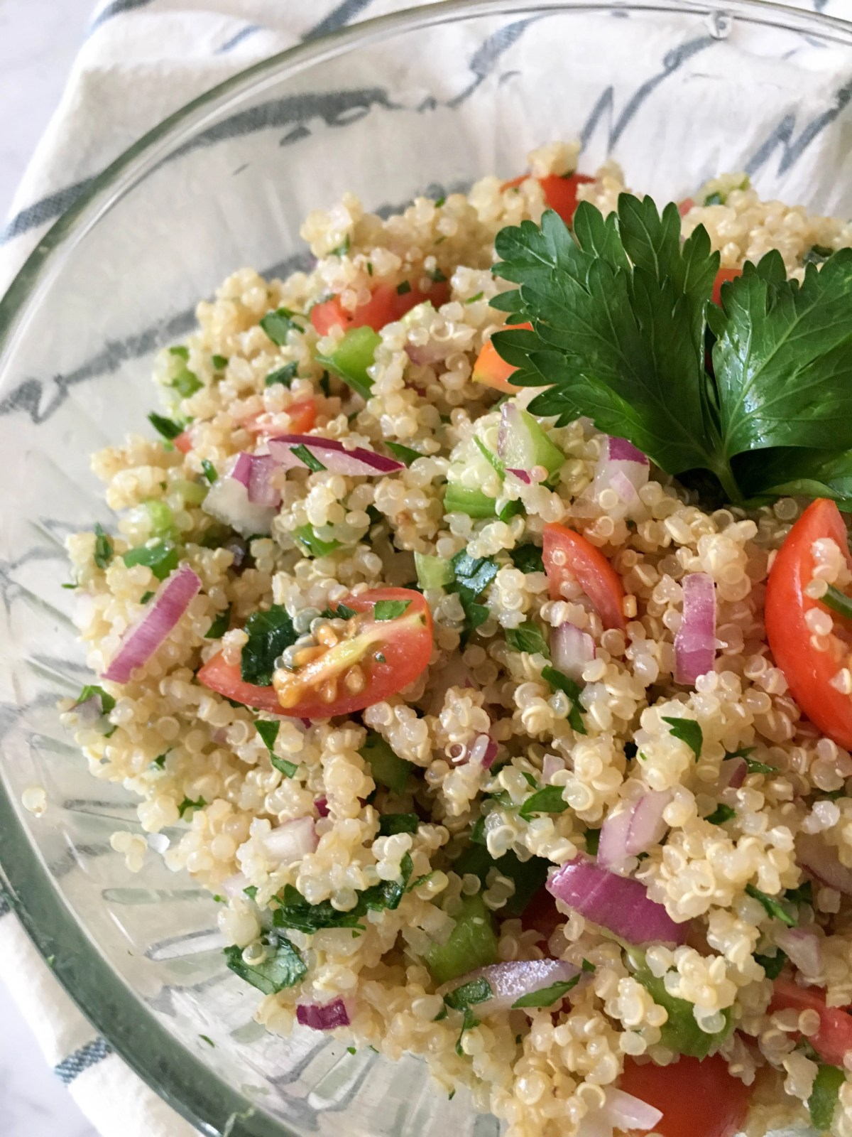 quinoa salad final product