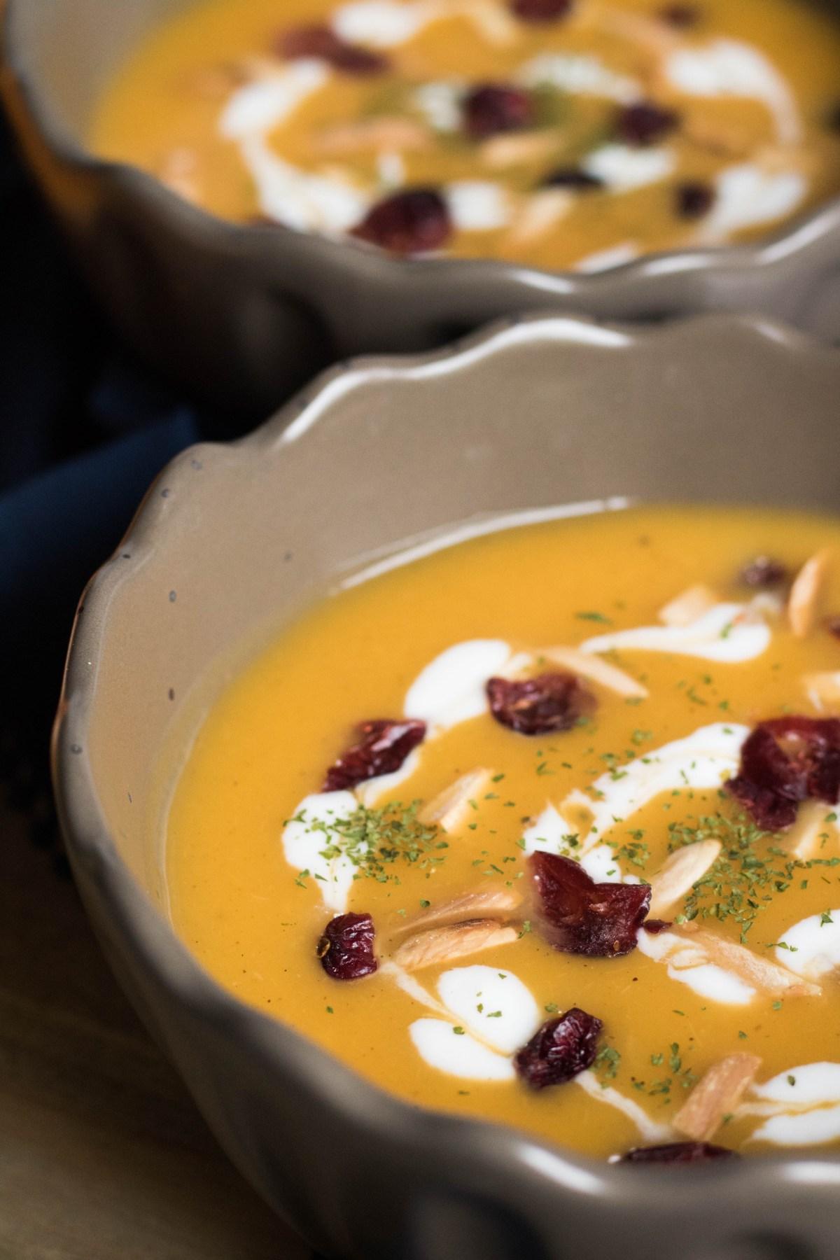 butter nut squash soup