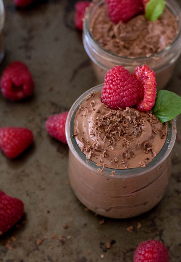 The perfect Valentine chocolate mousse  |quick recpie|
