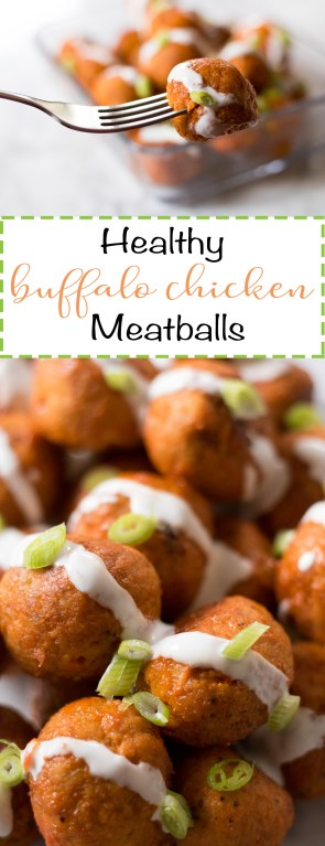Healthy buffalo chicken meatballs recipe pinterest