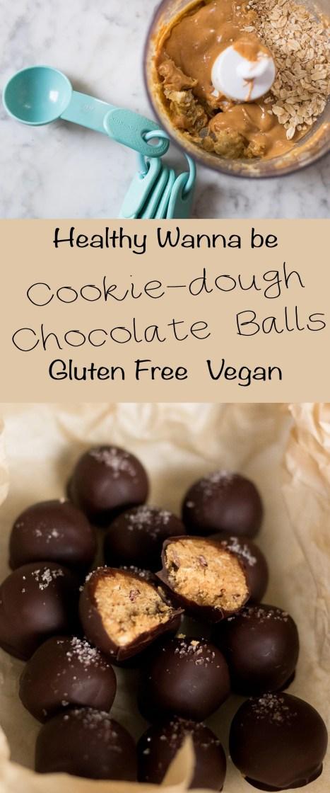 Pinterest recipe for cookie dough chocolate balls recipe