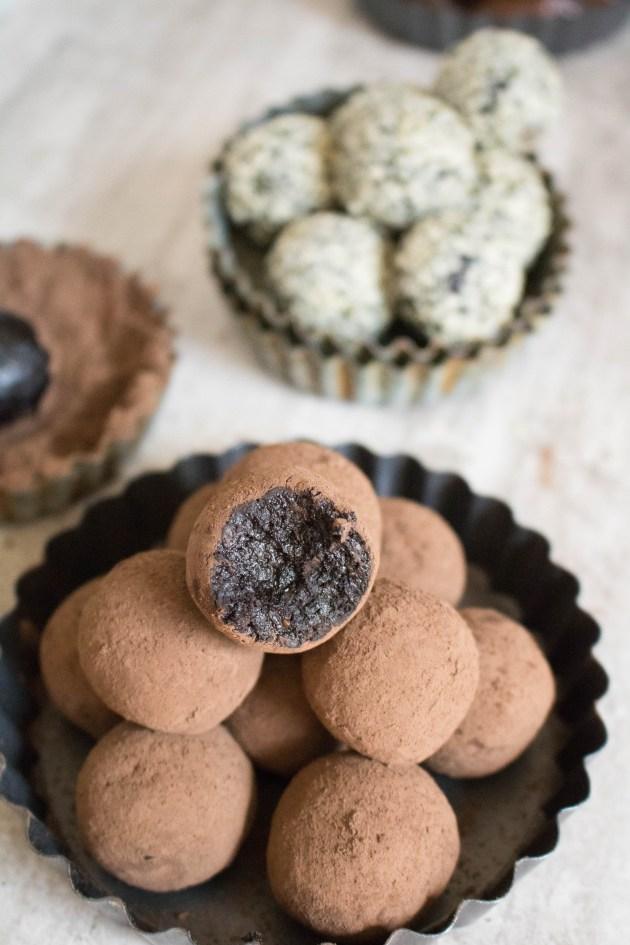 Reishi mushroom superfood bliss ball