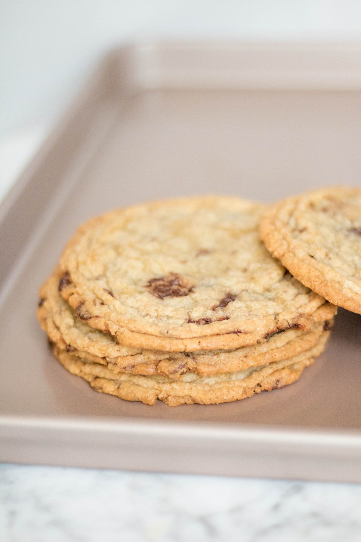 Internet famous chocolate chip cookies