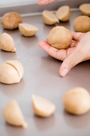 Dulce de Leche Snickerdoodle cookies