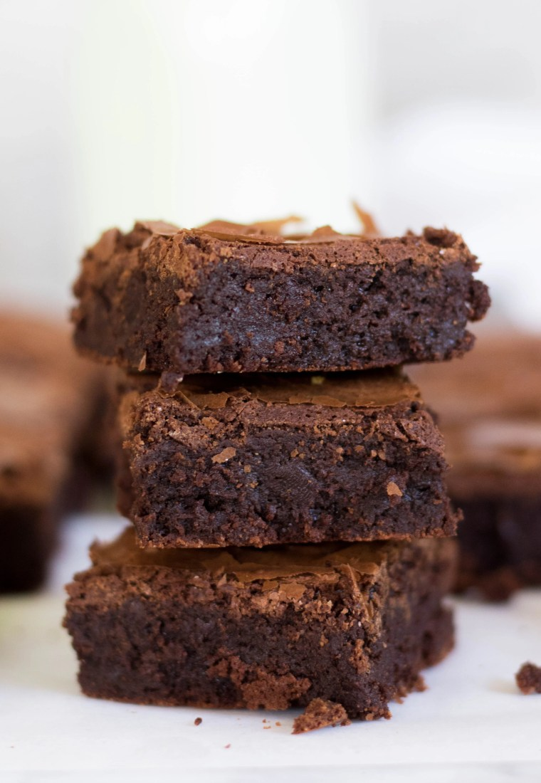 Bakery Style Brownies Without Cocoa Powder