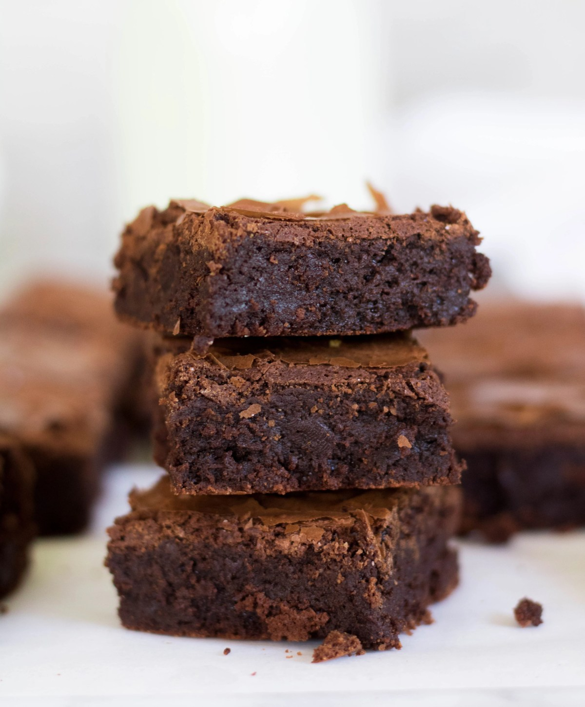 Bakery style brownies with no cocoa powder