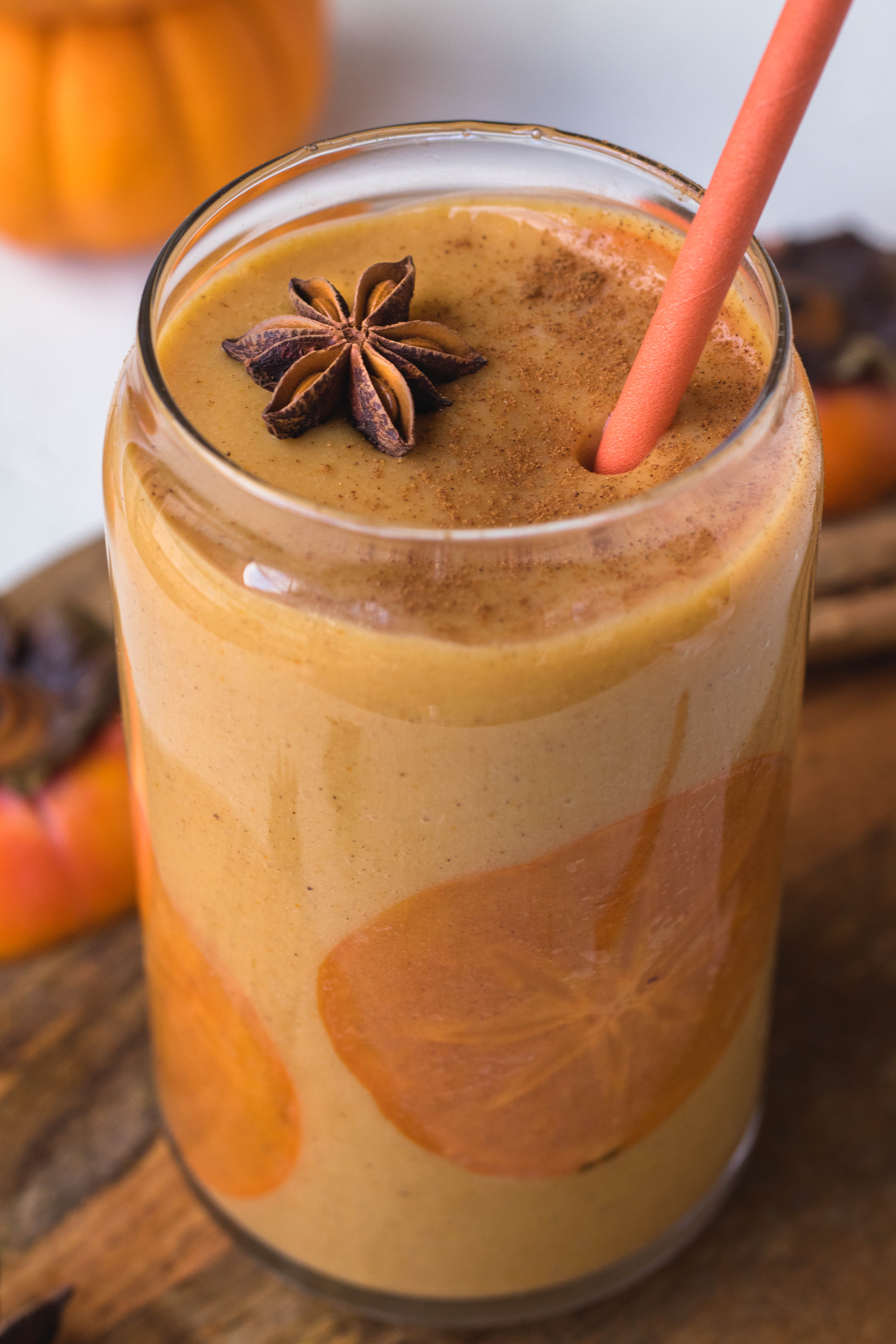 Healthy Persimmon smoothie
