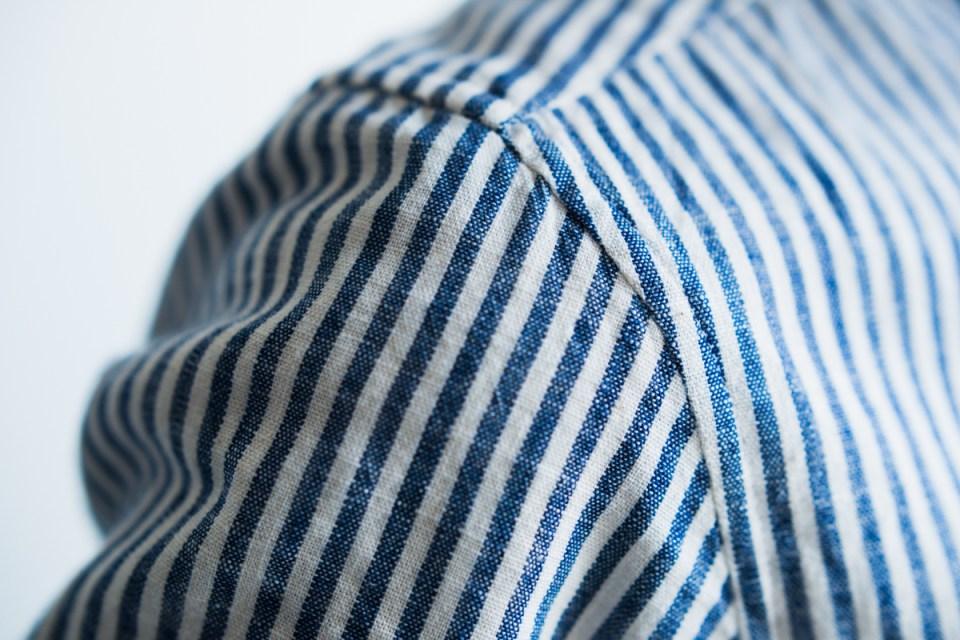 オーダーメイドシャツサイズ調整