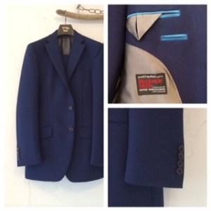 カジュアル新老衣装|ブルー