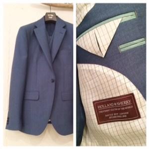 カジュアル新郎衣装|スリーピース|ブルー