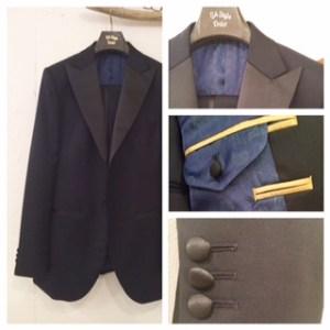新郎衣装|タキシード|ピークドラペル