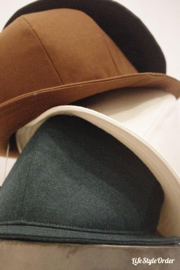 オーダーハット,フランネルやデニム素材の帽子