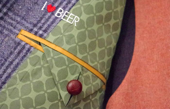 オーダージャケット刺繍