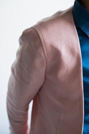肩パットを省いたジャケット感覚のレディースオーダースーツ|lifestyleorder