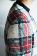 肩パットを省いたナチュラルなシャツ袖タイプのレディースオーダースーツ|lifestyleorder