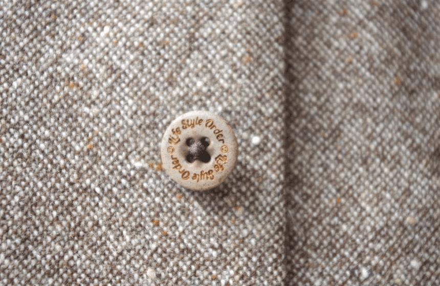 本水牛オリジナルボタン