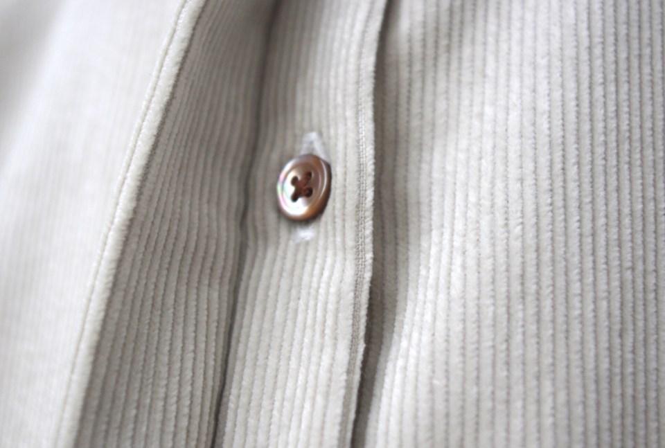 レディースオーダーシャツ,比翼仕立て