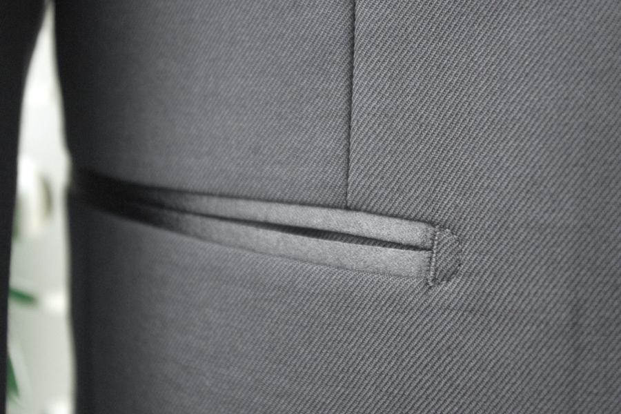 タキシード,腰ポケット両玉縁