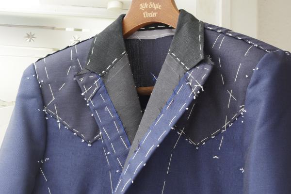 仮縫|ウエスタンスーツフロント